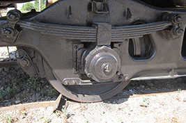 Leaf springs for railway applications